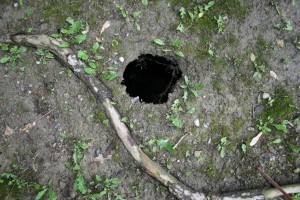 16. Small Sink Hole 2
